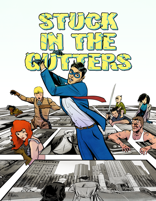 stuck in the gutters cover 1