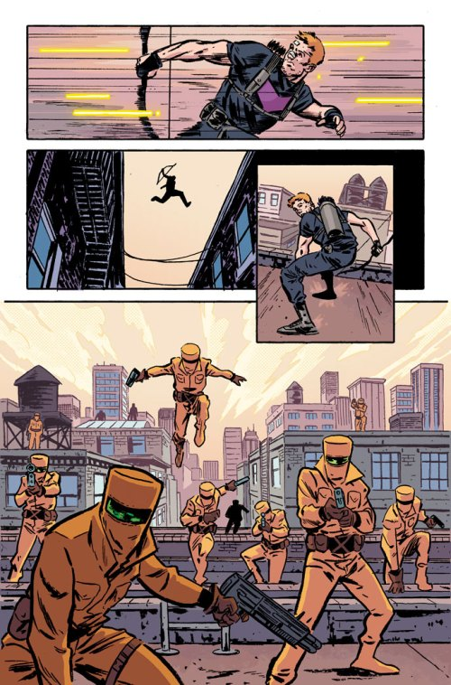 Secret Avengers - Hawkeye AIM