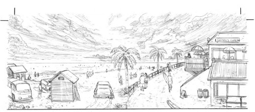 page 1 - establishing panel pencils