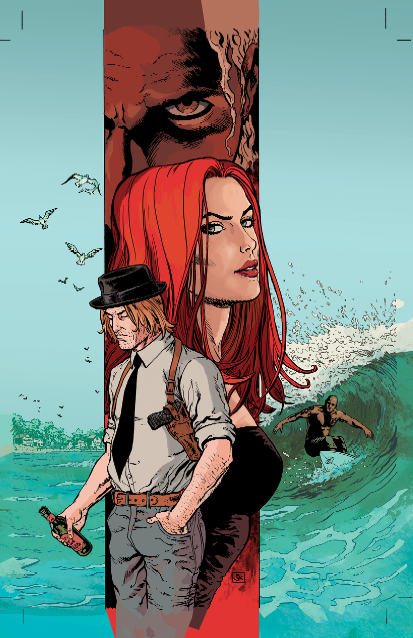 coloured cover