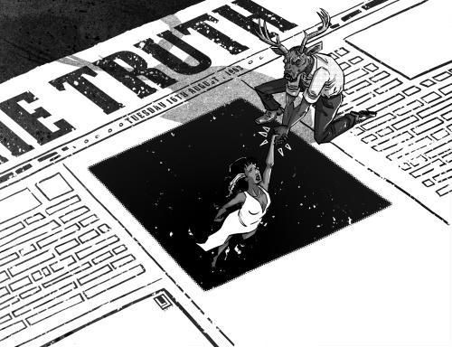 Louie Joyce - Deer Editor Pinup_LJ